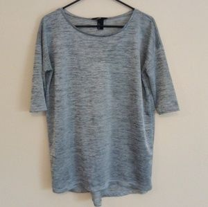 Light Gray Comfy H&M Sweater Top Size S